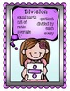 Math Vocbulary Posters