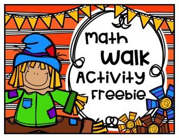 Math Walk Activity Freebie