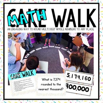 Math Walk with Rounding