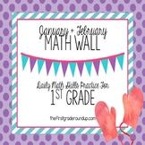 Calendar Math Wall 4 : 1st Grade