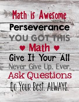 Math Wall Art