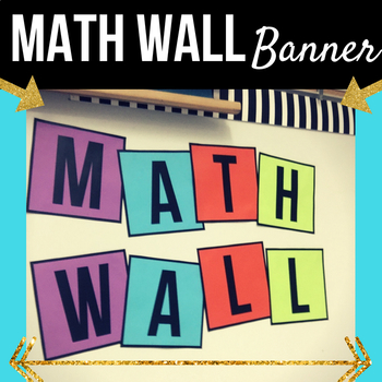 Math Wall Box Banner