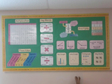 Math Wall Bulletin Board Set
