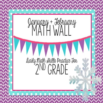 Calendar Math Wall 4: 2nd Grade