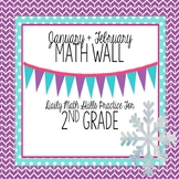 Calendar Math Wall for January and February (2nd Grade)