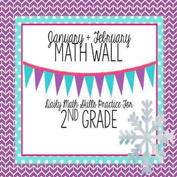 Calendar Math Wall 4: 2nd Grade