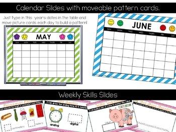 Calendar Math Wall for May and June (2nd Grade)