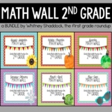 Calendar Math Wall BUNDLE for 2nd Grade