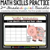 Calendar Math Wall BUNDLE for 2nd Grade