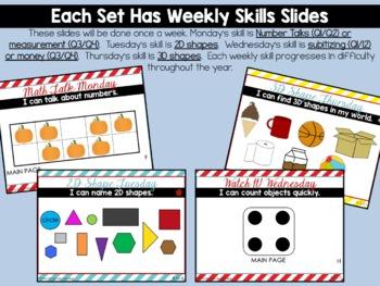 Calendar Math Wall BUNDLE for Kindergarten