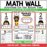 Math Wall K - 2 (Classroom Numeracy Activities)