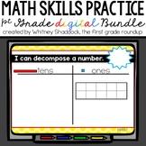 Calendar Math: 1st Grade Year Long BUNDLE
