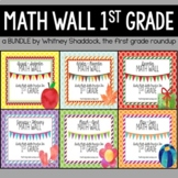 Calendar Math Wall BUNDLE for 1st Grade