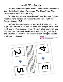 Math War Bundle