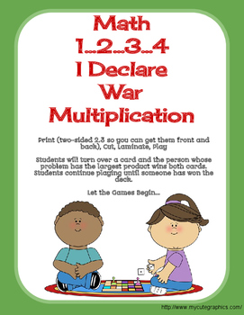 Math War Multiplication