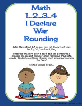 Math War- Rounding Tens