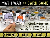 Math War the Card Game: Addition & Subtraction Facts