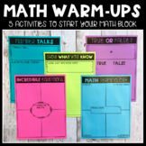 Math Warm-Up FREEBIE