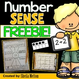 Number Sense FREEBIE!! (Morning Work, Math Centers, Math Notebooks)