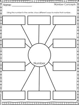 Number Sense FREEBIE!! (Morning Work, Math Centers, Math Notebooks)