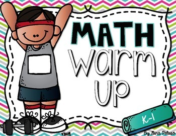 Math Warm Up: Interactive Whiteboard Version