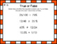 Math Daily Warm-Up Slides- True or False