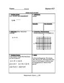 Math Warm Up / Starters - Bundle #6