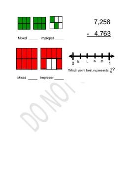 Math Warm Ups 2