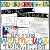Math Number Sense Warm-Up Routines: 2nd-3rd Grade