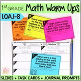 Math Task Cards • Math Warm Ups BUNDLE:  Operations & Algebraic Thinking