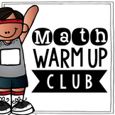 Math Warm Ups Club