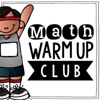 Math Warm Ups Club