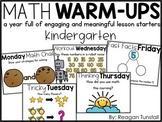 Math Warm-Ups Kindergarten