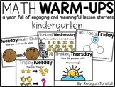 Digital Math Warm-Ups Kindergarten