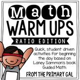 Ratio & Percent Math Warm Ups