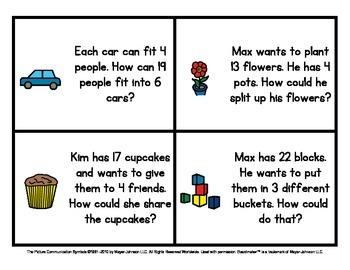 Math Warm Ups (Set 2) - Story Problems for Kindergarten to 2nd Grade