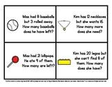Math Warm Ups (Set 1) - Story Problems for Kindergarten to 2nd Grade
