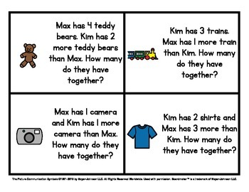 Math Warm Ups (Set 1) - Story Problems for Kindergarten to 2nd Grade