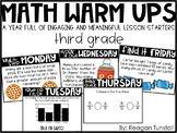 Math Warm-Ups Third Grade