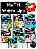 Math Warm Ups / Math Talks Variety Pack