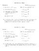 STAAR Math Warm-up 6th Grade