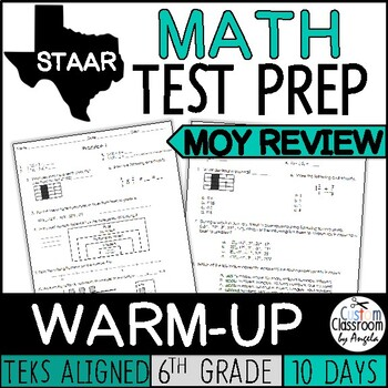 Math Warm-up: Middle of Year Review