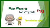 Math Warm-up for 2nd grade #10