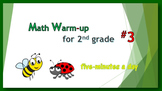 Math Warm-up for 2nd grade #3