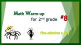 Math Warm-up for 2nd grade #8