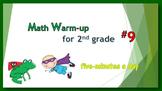 Math Warm-up for 2nd grade #9
