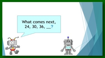Math Warm-up for 3rd grade #5