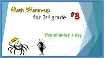 Math Warm-up for 3rd grade #8