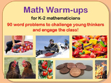 Math Warm-ups PowerPoint Mega-Pack (K-2)-Addition, Subtraction, and More!