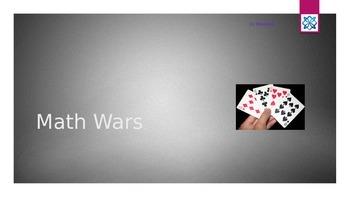 Math Wars - Fun Card Games